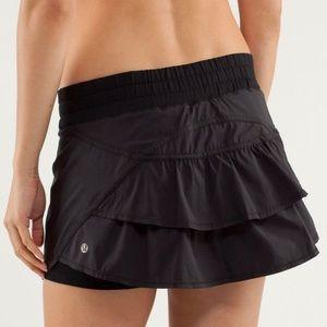 Lululemon run track attack skirt
